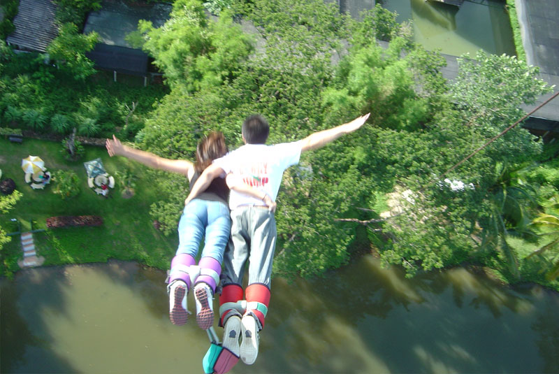 Phuket Bungy Jump With Easy Day Phuket Tours Amp Activities