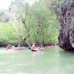 Sea Canoeing at Tam Lot