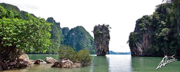 Phang Nga Bay James Bond Island Easy Day Phuket Tours