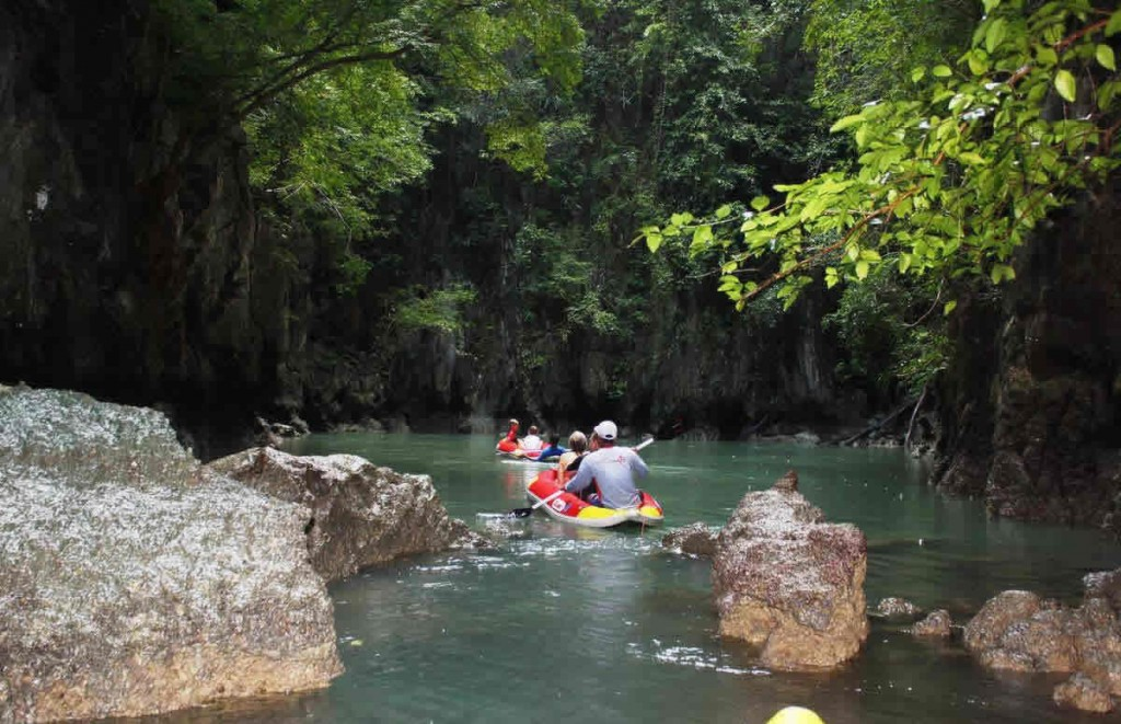 Phuket Sea Canoe Tour Phang Nga Hong
