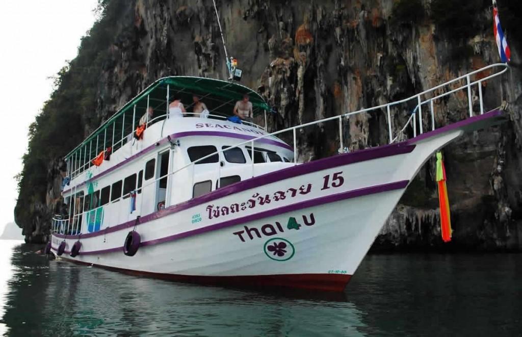 Phuket Sea Canoe Tour Phang Nga The Boat