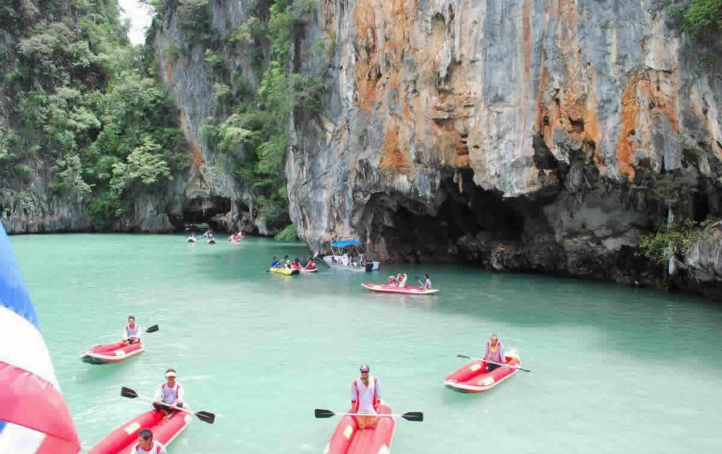 Phuket Sea Canoe Tour Phang Nga The fleet