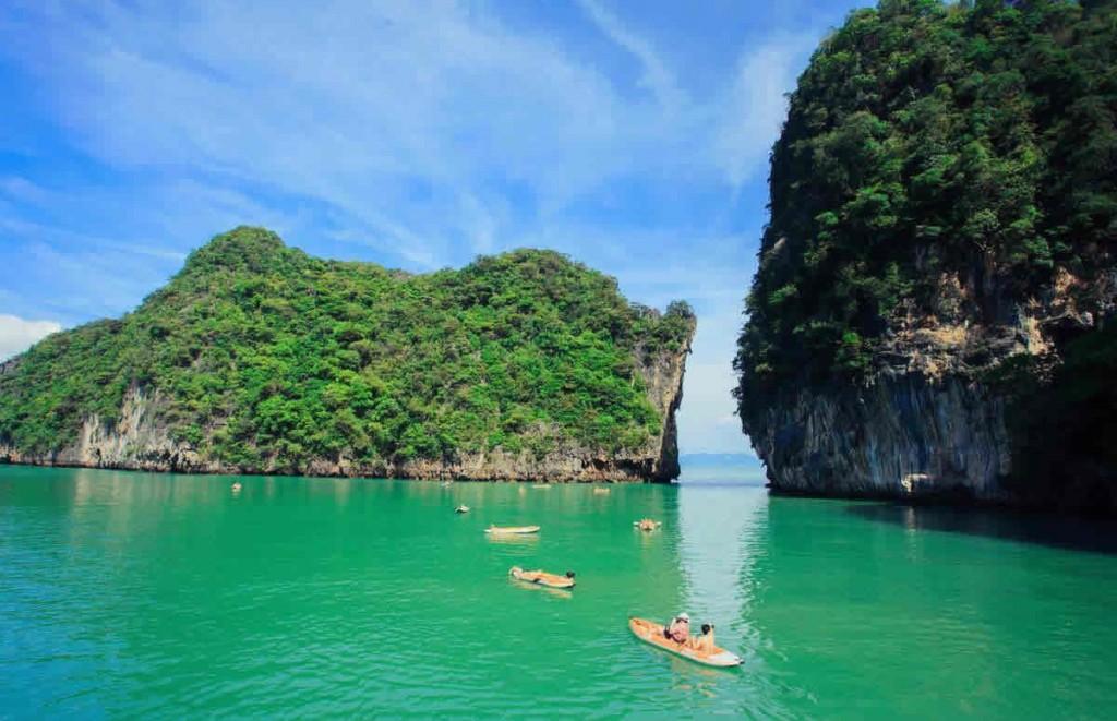 Phuket Sea Canoe Tour Phang Nga areal