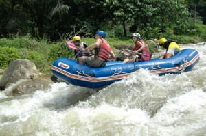 Phuket Wildwasser Rafting Abenteuer