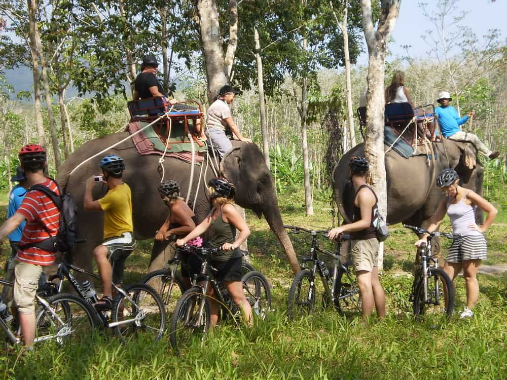 Phuket countryside Bicycle Tour