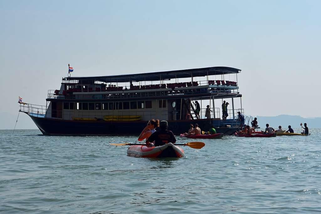 Phuket Sea canoe tour