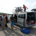Bike tour mini van