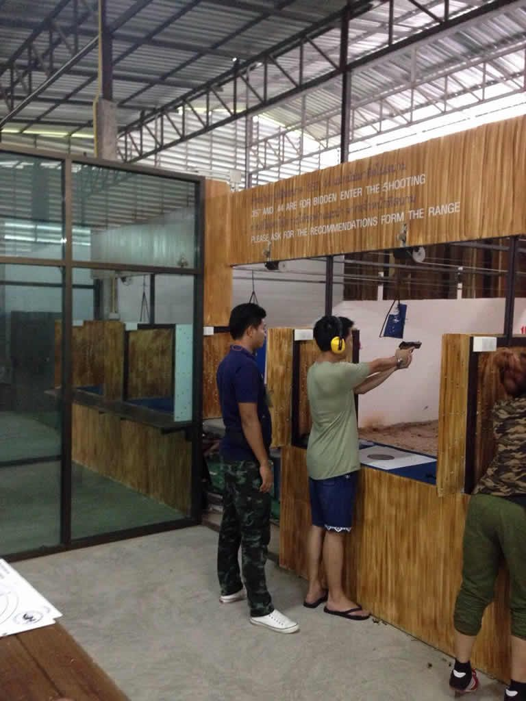 Kathu Shooting Range packages with Easy Day Phuket Tours
