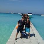 Arriving at Racha Island