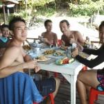 Luch Time at Racha Island