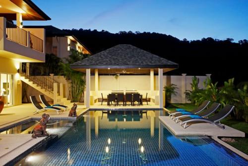Pool at Amba Villa
