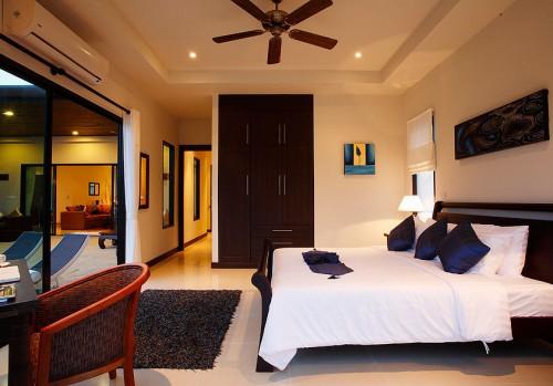 Bedroom at The Villas