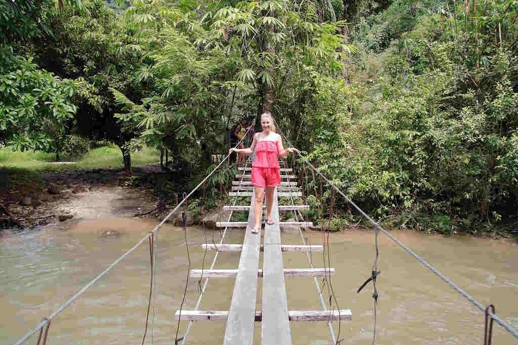 Kapong Safari Tour - Bridge