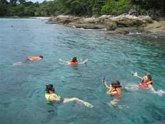 Raya snorkelling