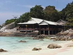 Raya Island - Raya Bungalow Resort Restaurant at Bungalow Bay