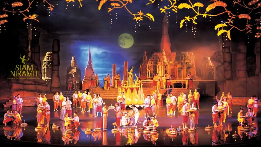 Siam Niramit Show Phuket - Loykrathong