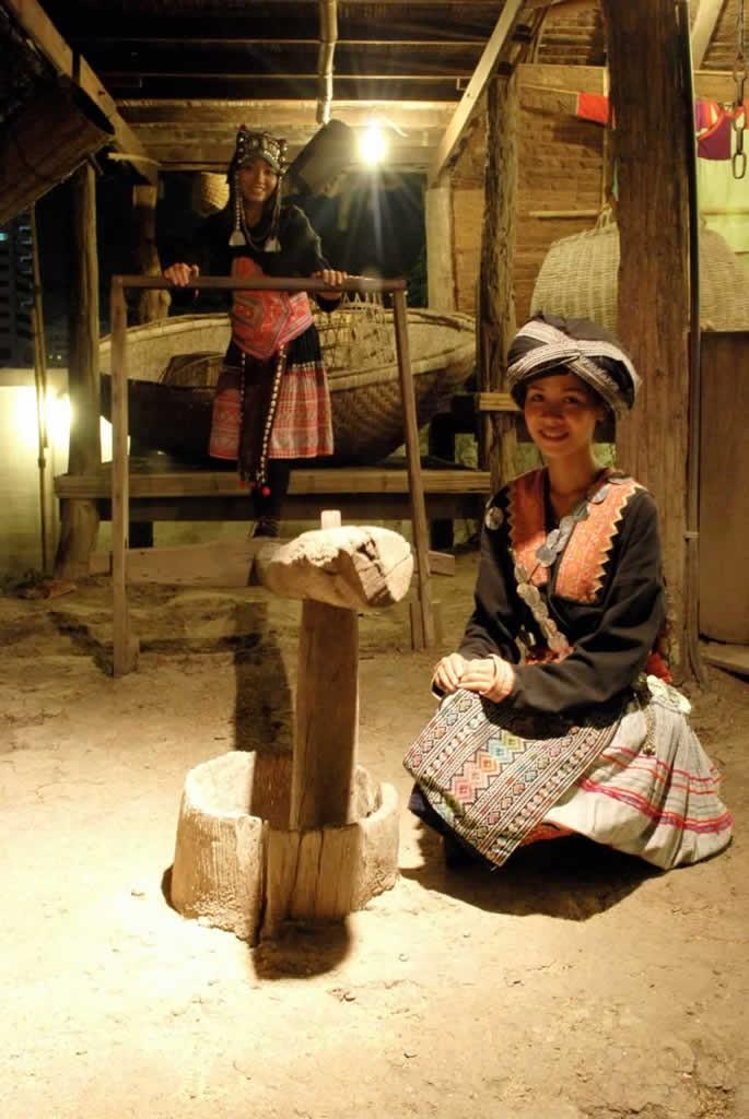 Siam Niramit Thai Village - Hill tribe