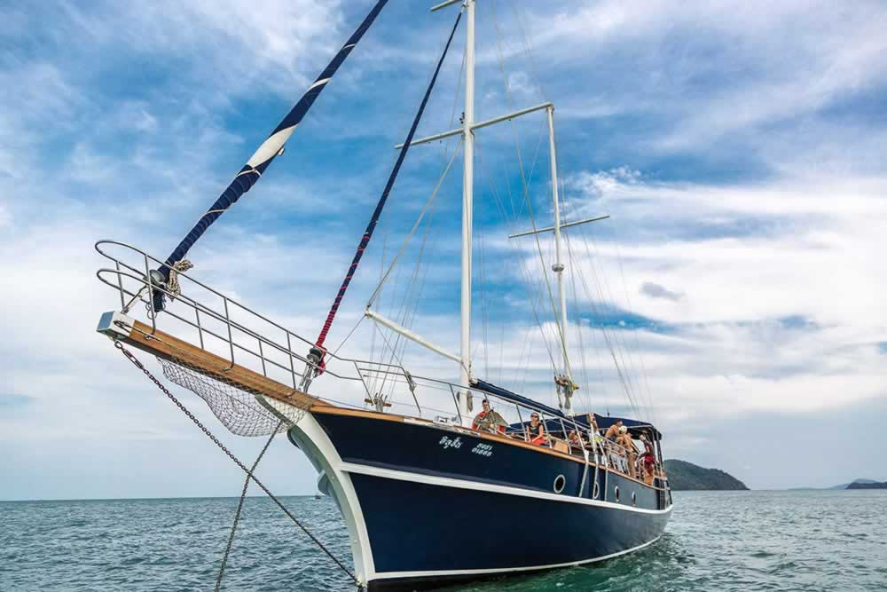 Private Phuket Island Cruises - MS Illuzion Front