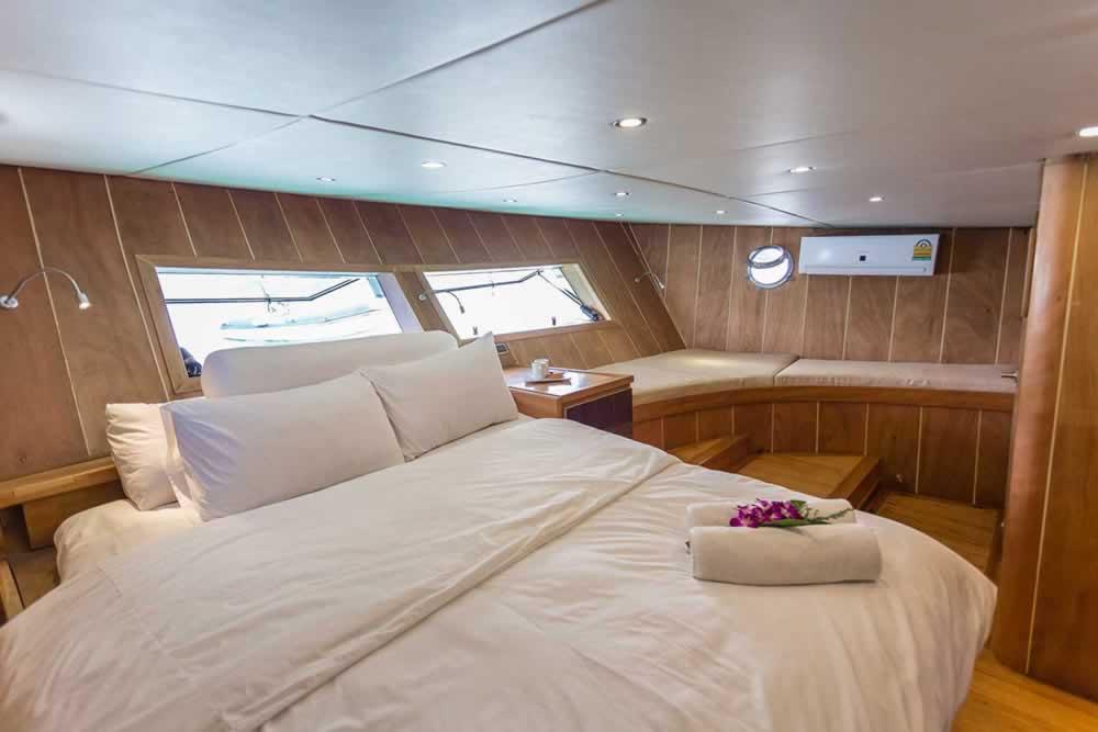 Private Phuket Island Cruises - MS Illuzion overnight