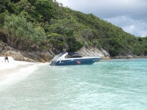 Easy Day Thailand Speedboat at Racha Yai Island