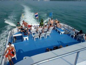 Erste Klasse auf der Phi Phi Island Premium Tour