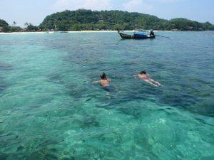 Schnorchel bei der Phi Phi Island Premium Tour