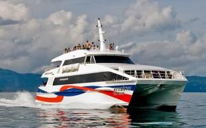 Lomprayah Fähre - Reisen von Phuket nach Koh Samui