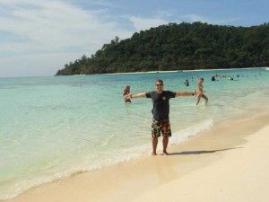 Easy Day Thailands Francesco on Koh Rok Island Tour Inspection
