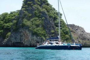 SY Ruby on Tour - Phuket Boat Charter Catamaran