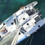 Top View SY Ruby - Phuket Boat Charter Catamaran