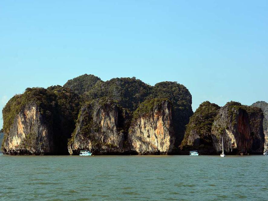 Phang Nga Bay Caves & Sea Canoe - Phang Nga Bay Kayak Koh Panak