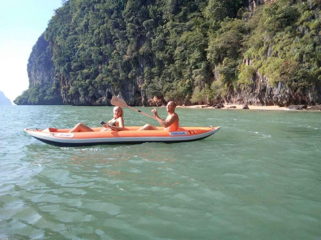 Phang Nga Bay Caves Phuket Tours - Phang Nga Bay Kayak