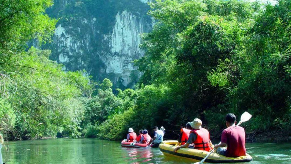 Khao Sok - Canoeing