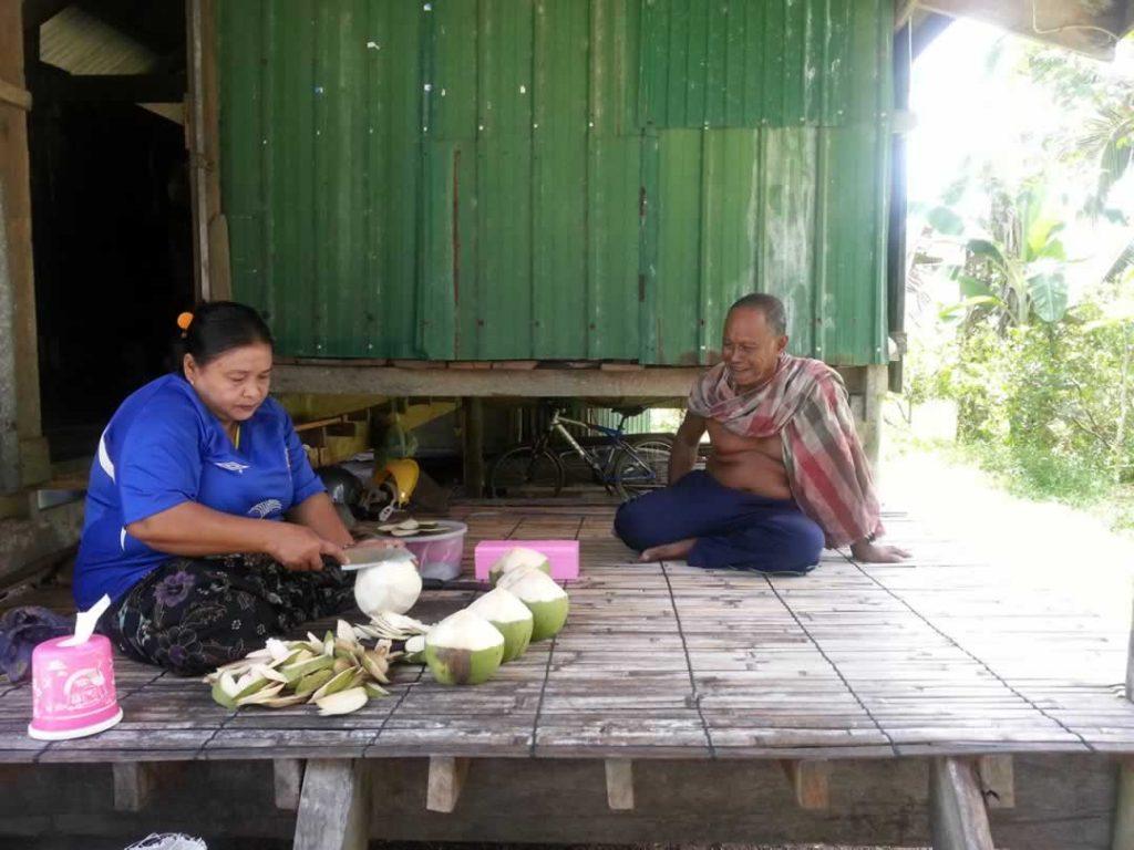 Koh Yao Noi - Kokosnuss Bauern