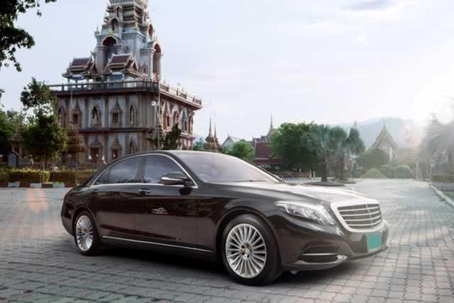 Mercedes-S500e - Phuket Limousine Charter