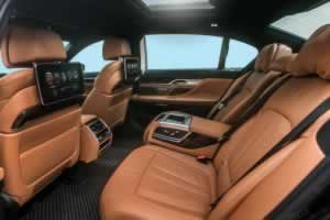 Phuket Limousine - BMW740Li-interior