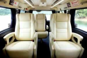 Phuket Limousine - Toyota-Ventury-interior