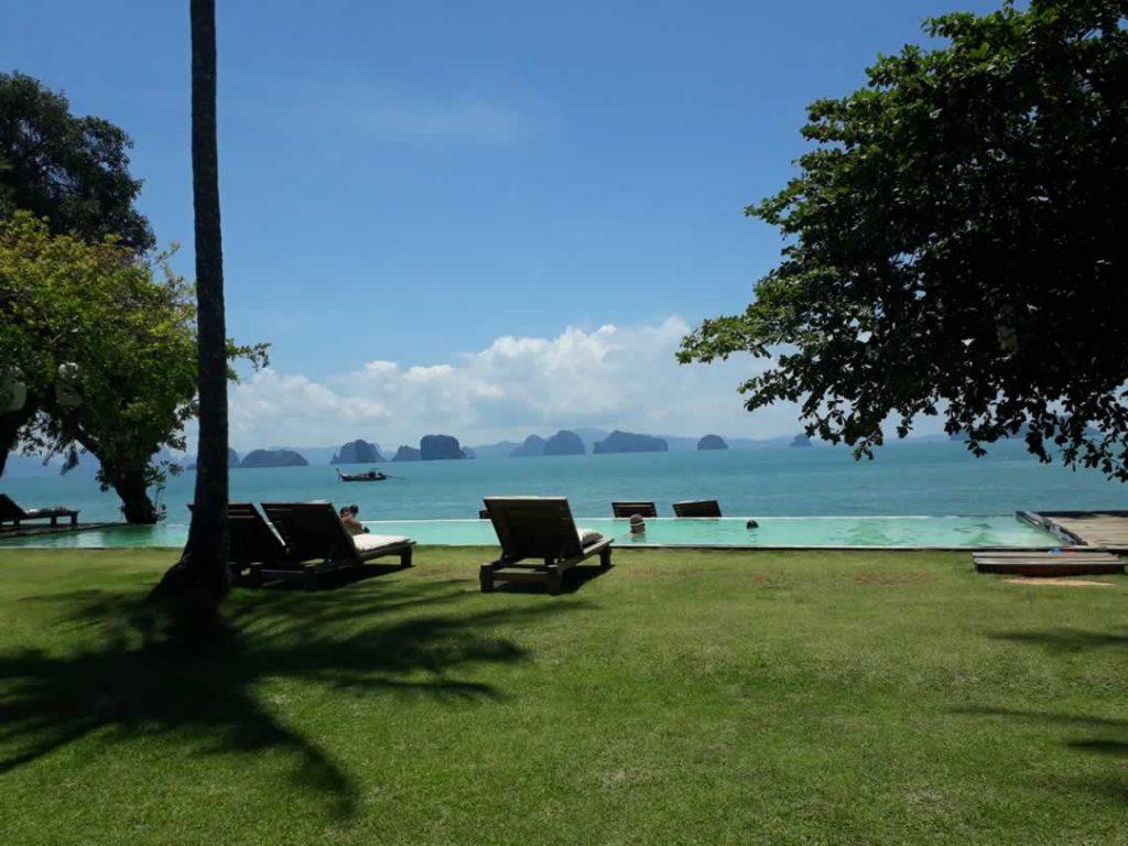 Aussicht vom Koyao Island Resort