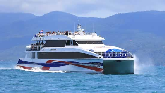 Lomprayah High Speed Ferry Phuket to Koh Samui