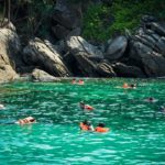 Racha Island Tour Snorkeling time