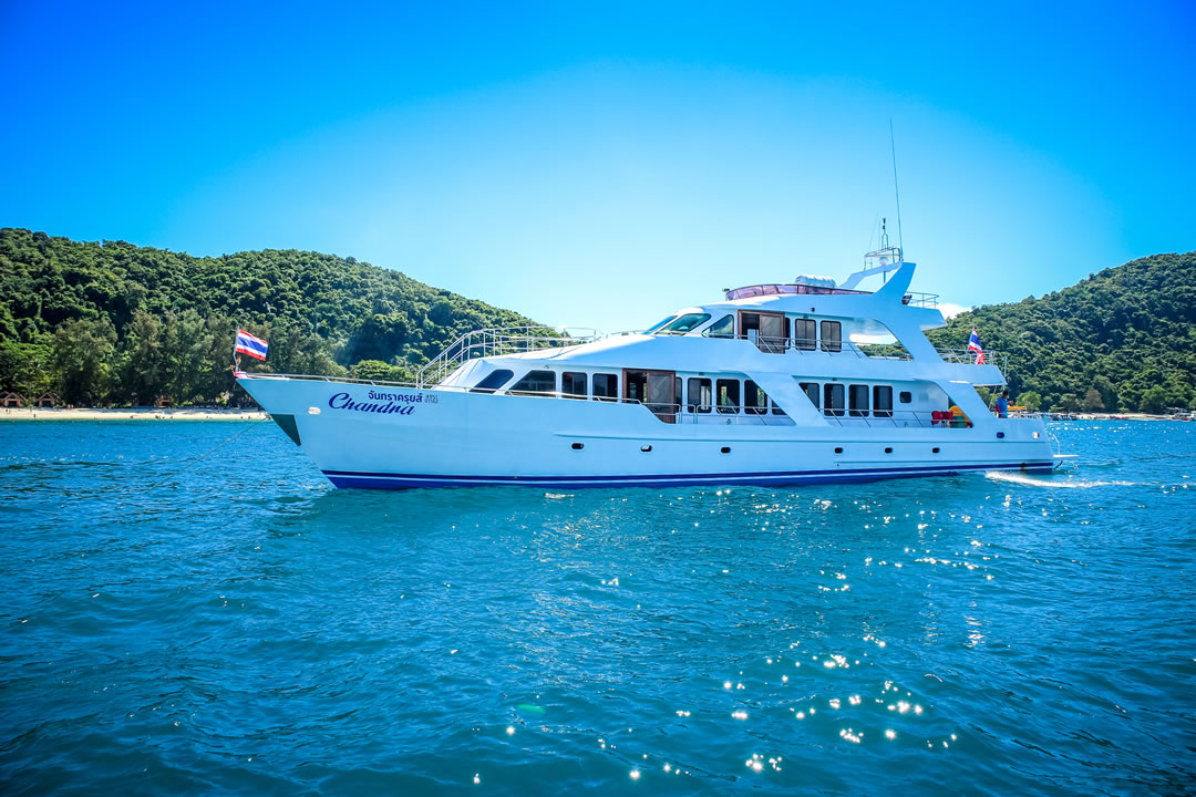 MV Chandra Cruises Phuket Thailand