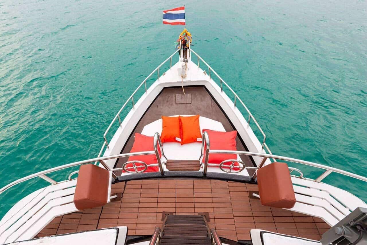 Bow - Sunset Dinner Cruise Phuket