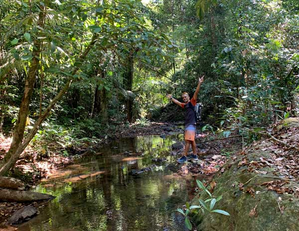 Phuket Hiking trip into the Rain Forest